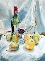Pears and Wine