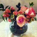 """""""Bowl Full of Roses"""" by RCdeWinter"""