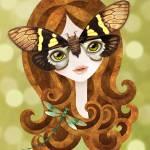 """Gaeana Cicada Girl"" by sandygrafik_arts"