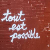 Tout Est Possible Art Prints & Posters by Katie Gennaro
