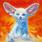 """""""Fennec (desert Fox)"""" by Liliya_Chernaya"""