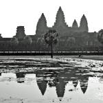 """Angkor Wat Reflection"" by RussellRice"