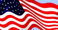 50 Star American Flag Closeup Abstract 8