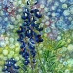 """Pretty in Blue"" by HaileyWatermedia"