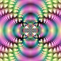Pastel Fractal by Lisa Rich