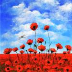"""Poppies  Larry Kip Hayes"" by kiphayes"