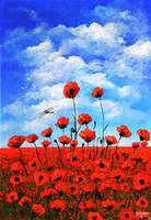 Poppies  Larry Kip Hayes