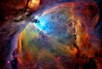 Orion Nebula Closeup Enhanced