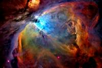 Orion Nebula Closeup Enhanced II  KAM
