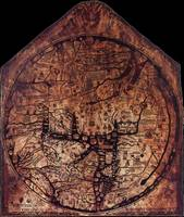 Hereford Mappa Mundi Black Corners