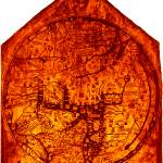 """Hereford Mappa Mundi Enhanced White Corners"" by TheNorthernTerritory"