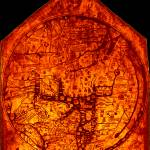 """Hereford Mappa Mundi 1300 Enhanced Black Corners"" by TheNorthernTerritory"