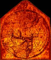 Hereford Mappa Mundi 1300 Enhanced Black Corners