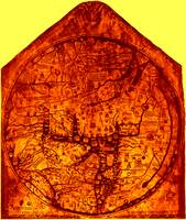 Hereford Mappa Mundi Enhanced Amber Corners
