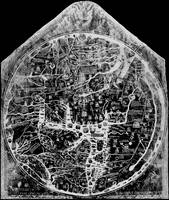Hereford Mappa Mundi 1300 Black & White Negative I