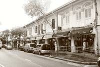 City Singapore in monochrome - Joo Chiat
