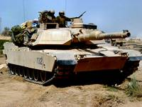 M 1 Abrams Main Battle Tank in Middle East
