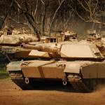 """M1 Abrams Tanks In Action"" by TheNorthernTerritory"