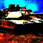 """M1 Abrams Tank In Front Line Combat Conditons"" by TheNorthernTerritory"