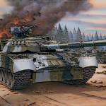 """Russian T 80 Tanks In Action 3"" by TheNorthernTerritory"