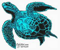 SeaTurtle-blue