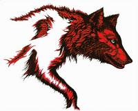 Wolf Stalking-Red