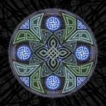 """Celtic UFO Mandala"" by foxvox"