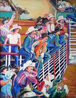Contestants at the Gay Rodeo