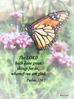 Psalm 126 3 The LORD hath done great things