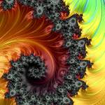 """Fractal Spiral - A Fractal Abstract"" by AnnG"