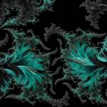 """Green Paisley - A Fractal Abstract"" by AnnG"