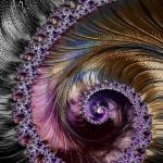 """Fractal Spiral 2 - A Fractal Abstract"" by AnnG"