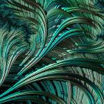 """Green Palm - A Fractal Abstract"" by AnnG"