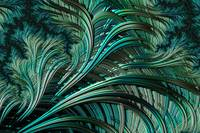 Green Palm - A Fractal Abstract
