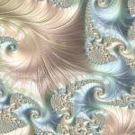 """Mother of Pearl - A Fractal Abstract"" by AnnG"