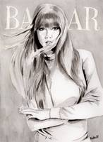 Bazaar cover. Taylor Swift.