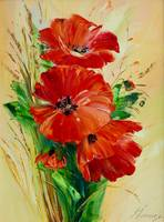 Flowers- red poppy