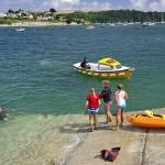 """Swimmers on the Slipway, St Mawes (38732-RDA"" by rodjohnson"