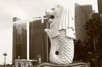 Merlion , City Singapore