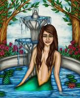 Mermaid in the Fountain