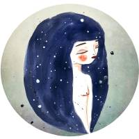 I am the Sky Art Prints & Posters by Andrea Sar