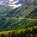 """""""Going Up Logan Pass"""" by Groecar"""