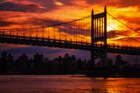 Triborough Bridge Sunset
