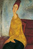 Jeanne Hebuterne in Yellow Sweater