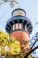 Currituck Beach Lighthouse on the Outer Banks of N