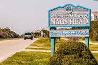 town of nags head scenes on outer banks nc