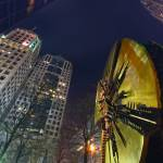 """""""charlotte downtown at night"""" by digidreamgrafix"""