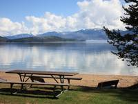 Picnic Table at Priest Lake