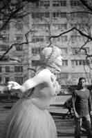 Living Statue in Central Park