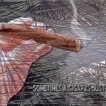 """sometimes a cigar"" by DCLWolf"
